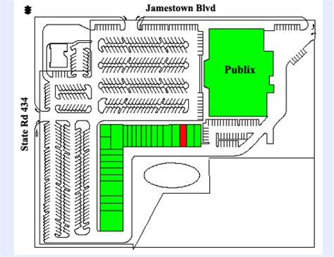 layout of altamonte mall saul centers inc jamestown place altamonte springs