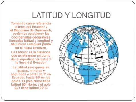 fotos de la tierra con latitud y longitud globo terr 225 queo
