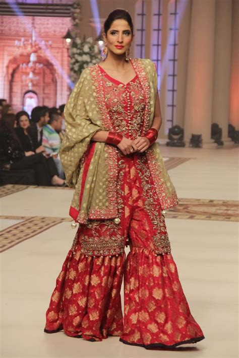 latest wedding bridal sharara designs trends