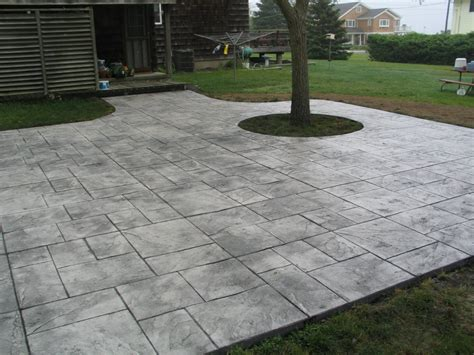 Backyard Concrete Patio Designs Concrete Patio Design Patio Design 42