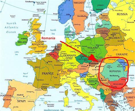 where is romania on a map romania where is romania