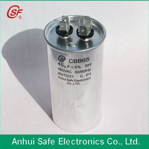 45uf run capacitor sh p2 cbb65a 1 capacitor 35uf 40uf 45uf 50uf 55uf sh polypropylene run capacitor buy motor run
