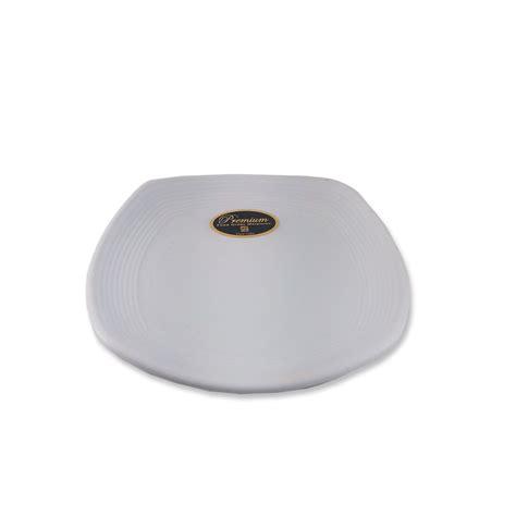 Sedotan Ulir jual piring ceper segi empat ulir 6 inch putih doff glori melamine g2406pth harga murah