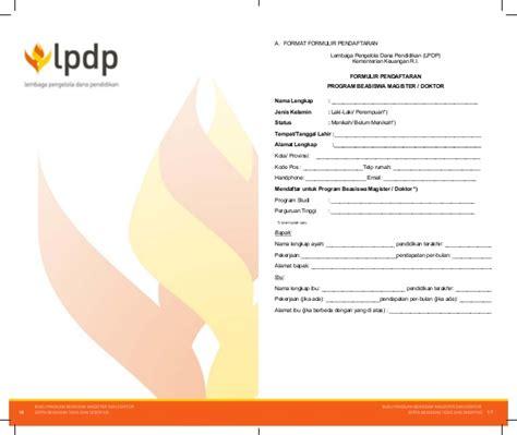 Pedoman Lengkap Untuk Melamar Kerja Buku Pintar Pelamar Kerja Mitra Media 1 booklet beasiswa lpdp