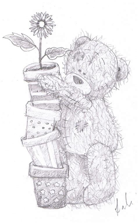Me 2 You Tatty Teddy Bear Free Colouring Pages Me To You Colouring Pages