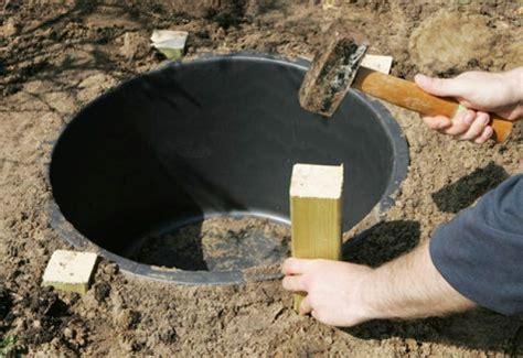 quellsteinbrunnen selber bauen garten on pinterest