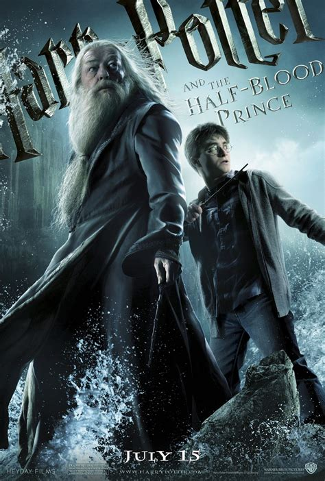Harry Potter And The Blood Half Prince harry potter and the half blood prince poster