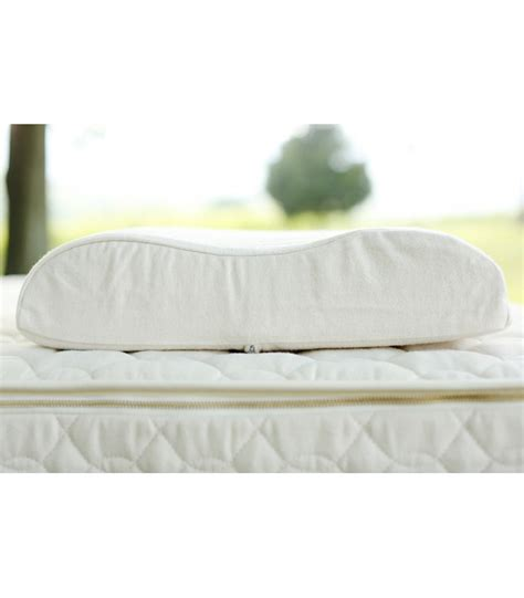 Organic Contour Pillow by Contour Pillow Healthy Bedroom