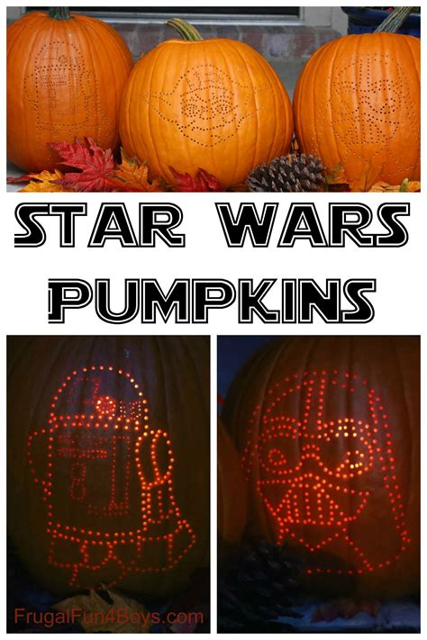 wars pumpkins how to create awesome wars pumpkins frugal for