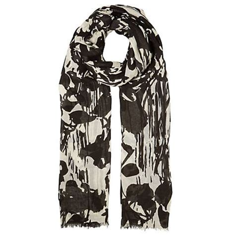 comfortable feel scarves black white scarf scarves