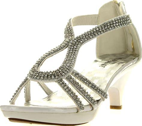 Platform Rhinestone Sandals delicacy dress sandals rhinestone platform wedding
