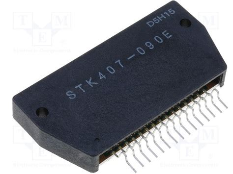 La4182 Ic Audio Sanyo stk407 090 sanyo integrated circuit 50w audio power lifier sip tme elektroniikka