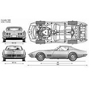 Tutorials3Dcom  Blueprints Chevrolet Corvette