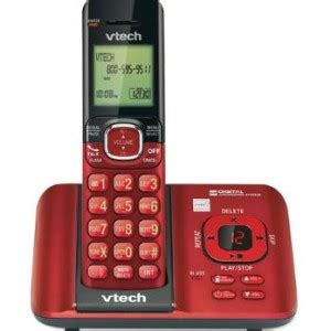 call house phone vtech cordless answering system with caller id call waiting vtech 174 cordless phones