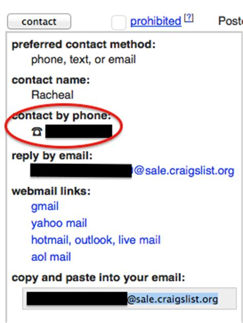 Business Phone Number Lookup Protect Your Privacy And Phone Number When Using Craigslist Best Free Phone Number