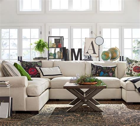 townsend sectional townsend upholstered 4 piece sectional with chaise