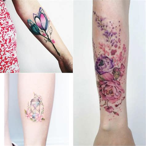watercolor tattoos for females watercolor designs watercolor technique