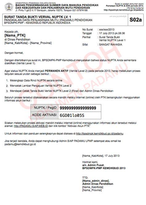 Pengertian Surat Permintaan Perjalanan Dinas by Ladang Informasi Panduan Pengajuan Nuptk 2014
