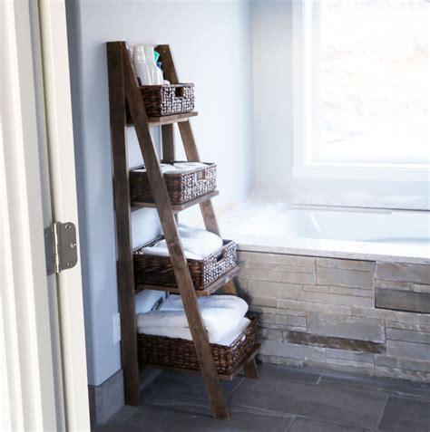 wooden ladder shelf bookcase wooden ladder shelves home design
