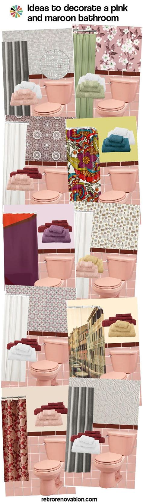 retro pink bathroom ideas 1000 ideas about retro bathrooms on bath