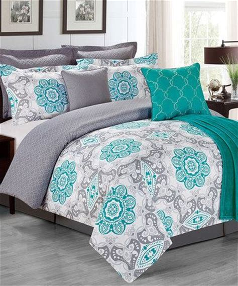 turquoise and gray comforter best 25 turquoise bedding ideas on pinterest teal and