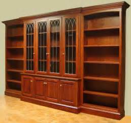 Open Bookcase With Doors Image Detail For Made Cherry Bookcase With Leaded