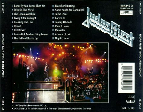the best of judas priest the best of judas priest living after midnight music