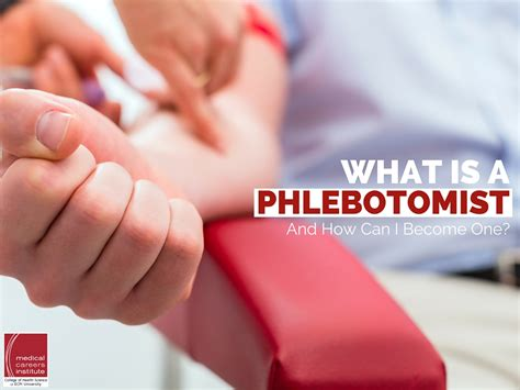 I Want To Be A Phlebotomist by What Is A Phlebotomist And How Can I Become One