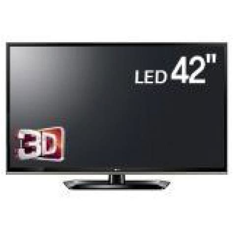 Tv Led 42 Inch Second lg 42 inch 42lm5800 hd 3d led multisystem tv for 110