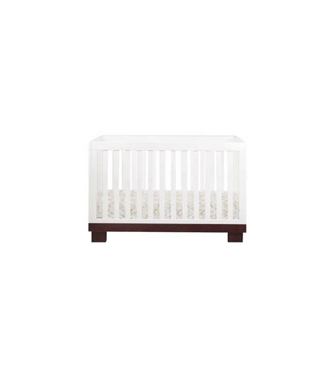 Babyletto Modo 3 In 1 Convertible Crib Babyletto Modo 3 In 1 Convertible Crib With Toddler Bed Conversion Kit In Espresso White
