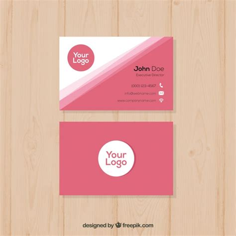 Pink Business Cards Templates Free by Pink Business Card Template Image Collections Business