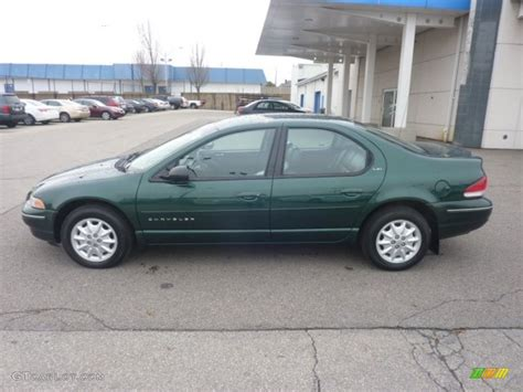 1999 Chrysler Cirrus Lxi forest green pearl 1999 chrysler cirrus lxi exterior photo