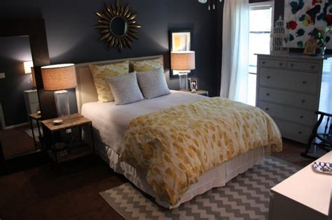gray and navy blue bedroom bedroom glidden blue slate grey