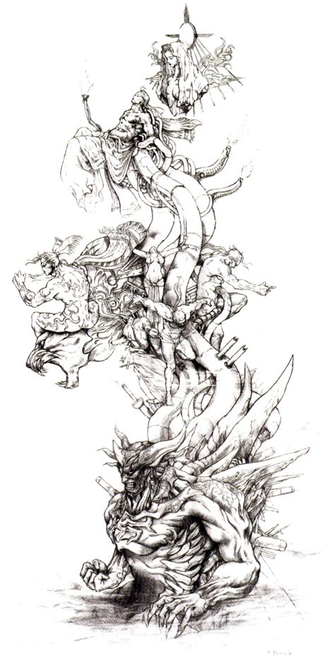 image tower of gods ffvi concept art jpg final fantasy