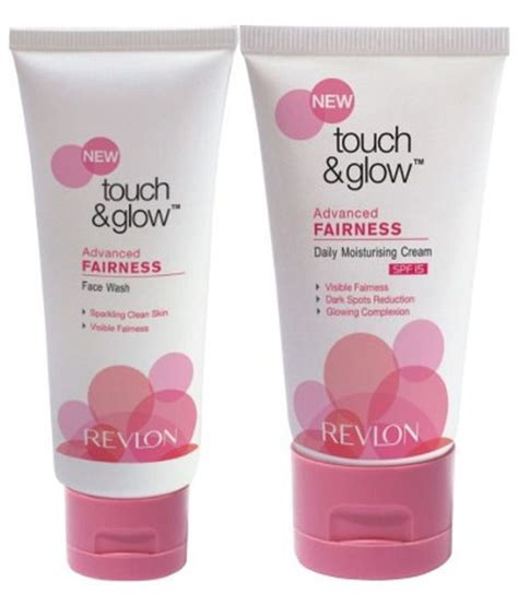 Bedak Revlon Touch N Glow revlon touch and glow advanced fairness wash daily moisturising spf 15 buy revlon