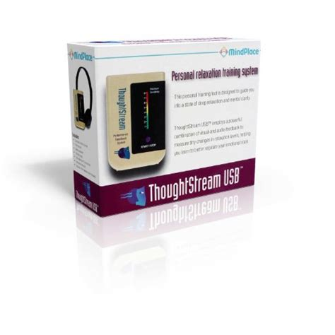 mindplace thoughtstream usb personal biofeedback
