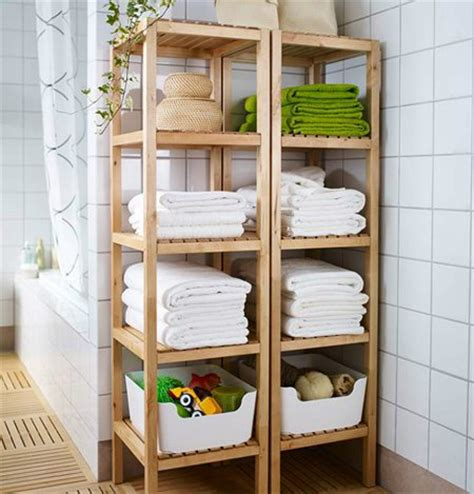 Open Bathroom Shelving 17 Ways To Maximize The Space In Your Bathroom Pretty Designs