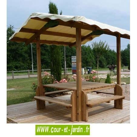 Table En Bois Et Banc by Table Pique Nique Bois Table De Jardin Bois Avec Banc