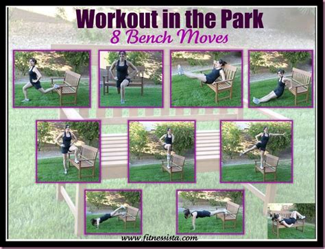 outdoor workout bench groceries and benches