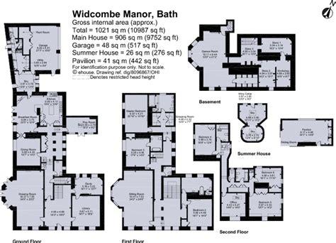 Floor Plan For Master Bedroom Suite 6 bedroom detached house for sale in widcombe manor bath ba2