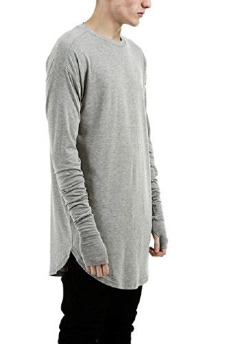 31277 Gray Basic Casual Blouse Blouse Abu Abu lilbetter mens thumb cuffs sleeve t shirt basic buy in uae apparel