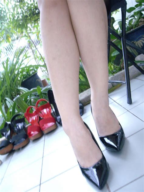 Sale Vincci Flat Pointy Shoes Ori thekookything glossy pointed pumps black