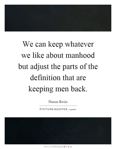 Can We Keep Our The Sexualization Of The Pre Set by We Can Keep Whatever We Like About Manhood But Adjust The