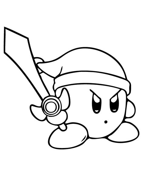 Kirby Coloring Pages To Print free printable kirby coloring pages for