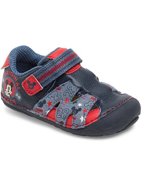 toddler mickey mouse sneakers stride rite toddler boys or baby boys srt sm disney