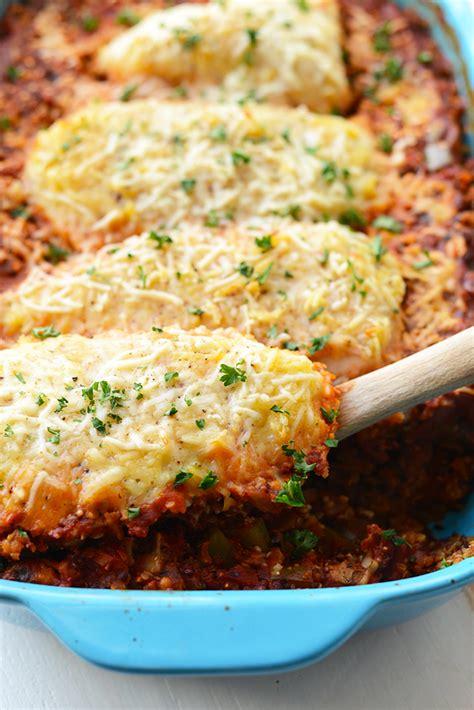 healthy casseroles    family happily hughes