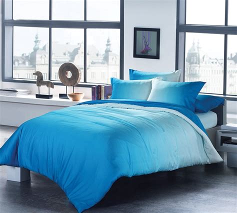 blue ombre bedding ombre aqua king comforter