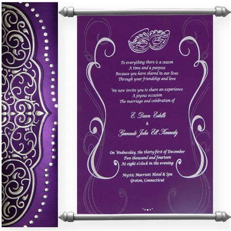 shimmery finish paper box  velvet fabric scroll swc