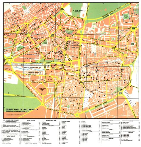 damascus on a map large damascus maps for free and print high