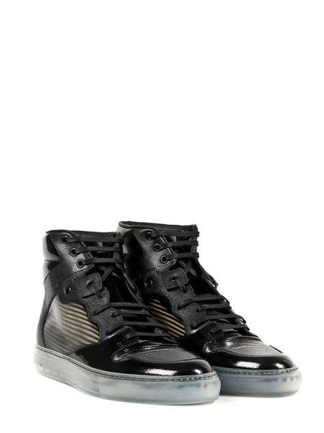 black sneakers balenciaga sneakers in black for lyst